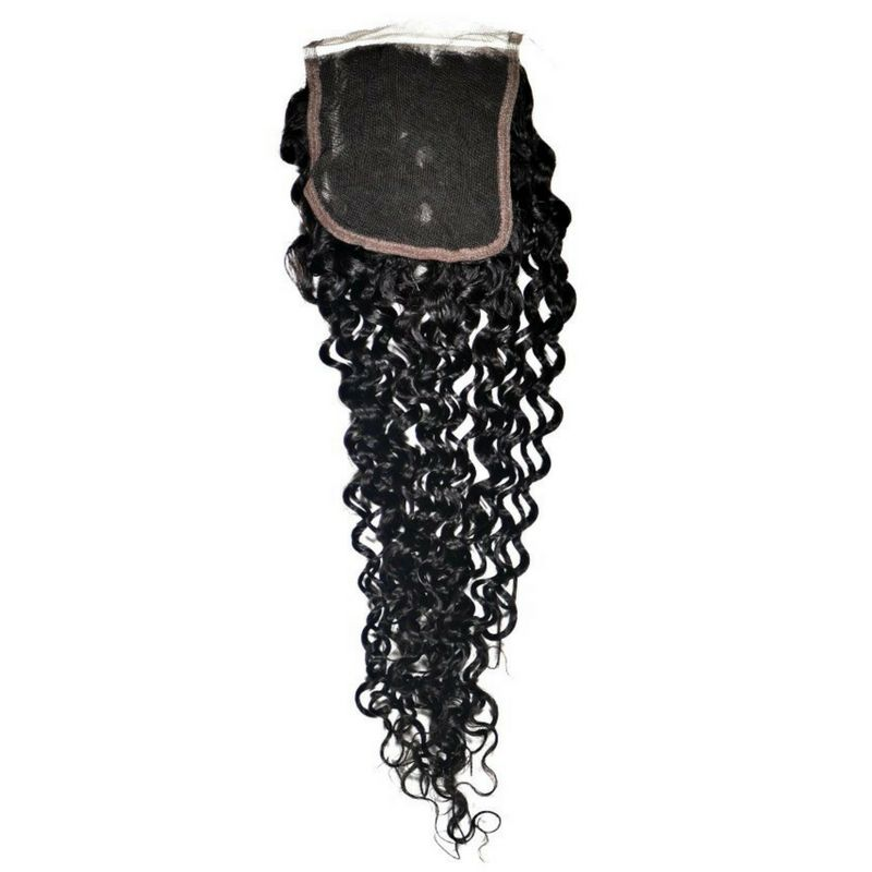 Brazilian Kinky Curly Closure Back