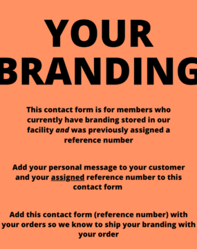 contact form your branding