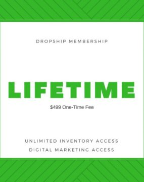 Lifetime Dropship Membership