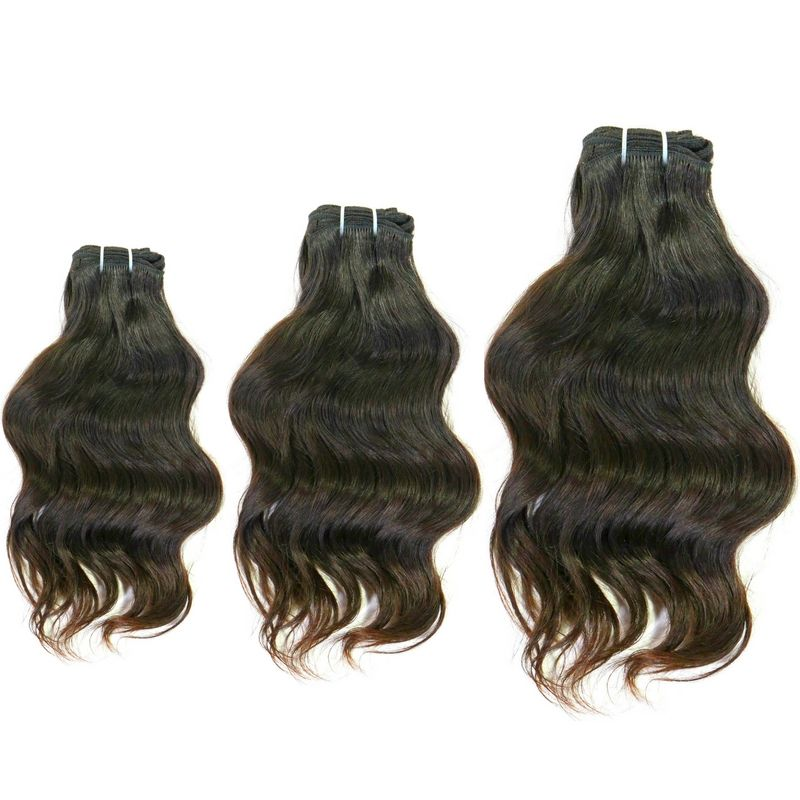 Raw Indian Wavy Extensions Deal