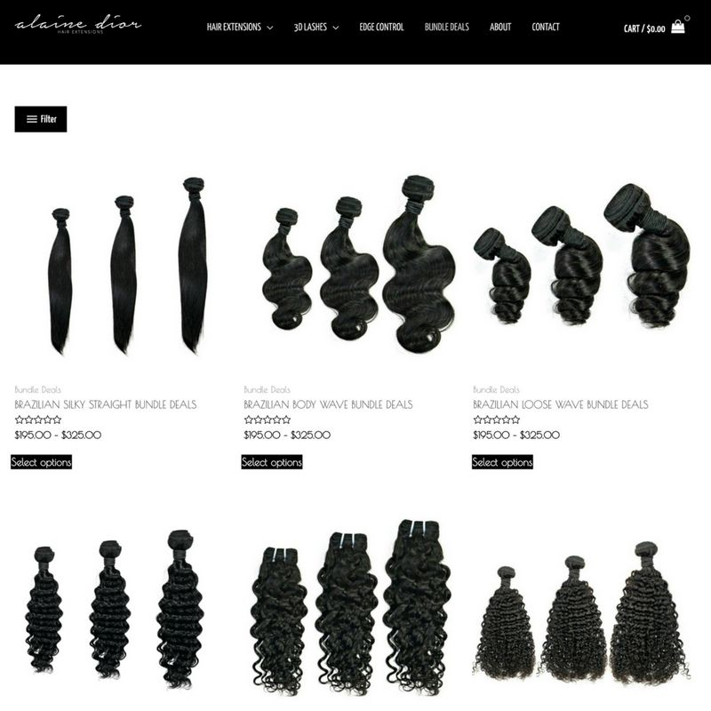 hair brand category