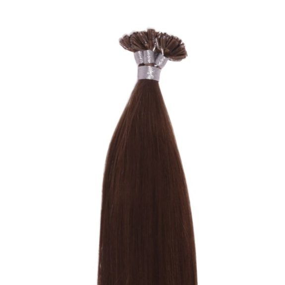 Chestnut Brown U-Tip Close