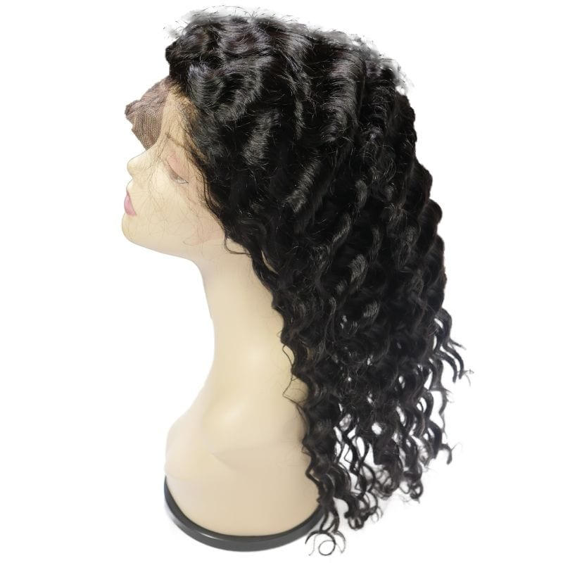 Deep Wave Front Lace Wig Side