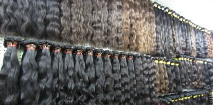 hair inventory of various hair types